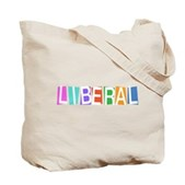 Colorful Retro Liberal Tote Bag