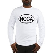 NOCA Northern Cardinal Alpha Code Long Sleeve T-Sh