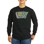 Lost Characters Long Sleeve Dark T-Shirt