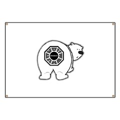 LOST: Dharma Initiative Polar Bear Banner