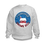 I Survived SNOMG 2010 Kids Sweatshirt