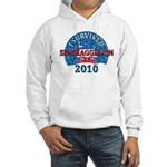 I Survived Snomaggedon Blizzard of 2010 Hooded Sweatshirt