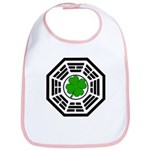 Dharma Initiative Shamrock Station Bib