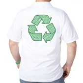 Path to Recycling Golf Shirt
