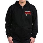 Really? Zip Hoodie (dark)
