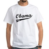 Obama 2012 Swish White T-Shirt