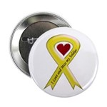 "Yellow Ribbon Love Miss Soldier 2.25"" Button (10 p"