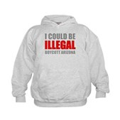 Could Be Illegal - Boycott AZ Kids Hoodie