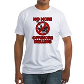 No More Offshore Drilling Fitted T-Shirt