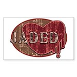 Urban Grunge Jaded Sticker (Rectangular)