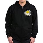 Lost Chick - Dharma Initiative Zip Hoodie (dark)