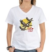 Gulf Coast Pelicans Women's V-Neck T-Shirt