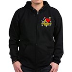 I Heart Schoolhouse Rock! Zip Hoodie (dark)