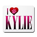I Heart Kylie Mousepad