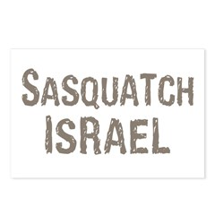 Sasquatch Israel!! Postcards (Package of 8)