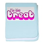 Retro I'm the Treat Infant Blanket