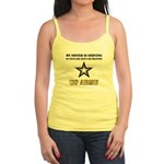 My Sister is serving - Army Jr. Spaghetti Tank