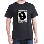 Content Rated 9: 90210 Fan Dark T-Shirt