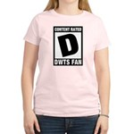 Content Rated D: Dancing With The Stars DWTS Fan Women's Light T-Shirt