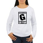 Content Rated G: General Hospital Fan Women's Long Sleeve T-Shirt
