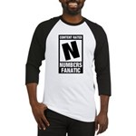 Content Rated N: Numb3rs Fan Baseball Jersey
