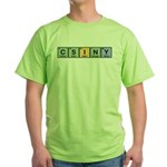 CSINY Made of Elements Green T-Shirt