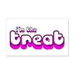 Retro I'm the Treat 22x14 Wall Peel