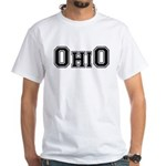 OhiO Boobies White T-Shirt