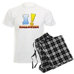I ! Halloween Men's Light Pajamas