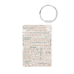 Shakespeare Insults T-shirts & Gifts Aluminum Photo Keychain
