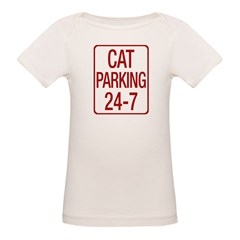 Cat Parking Organic Baby T-Shirt