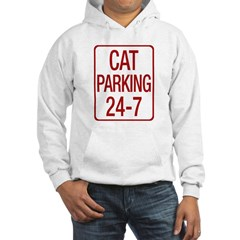 Cat Parking Hooded Sweatshirt