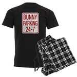 Bunny Parking Men's Dark Pajamas