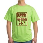 Bunny Parking Green T-Shirt