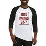 Dog Parking Baseball Jersey