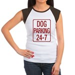 Dog Parking Women's Cap Sleeve T-Shirt