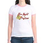 Hen Night in Progress Jr. Ringer T-Shirt