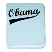 Obama Swish baby blanket