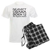 Logical Obama 2012 Men's Light Pajamas