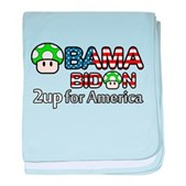 2up for America baby blanket