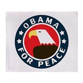 Obama For Peace Stadium Blanket