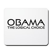 Logical Obama Mousepad
