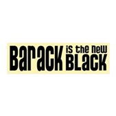 Barack the New Black 21x7 Wall Peel