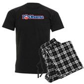 I Love Obama Men's Dark Pajamas