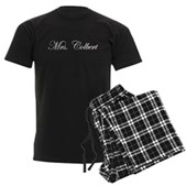 Mrs. Colbert Men's Dark Pajamas