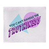 Can't Handle Truthiness Stadium Blanket