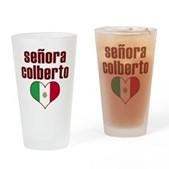 Senora Colberto Pint Glass