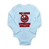 No More Offshore Drilling Long Sleeve Infant Bodys