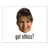 Anti-Palin Got Ethics? Small Poster