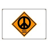 Peace Ahead Banner